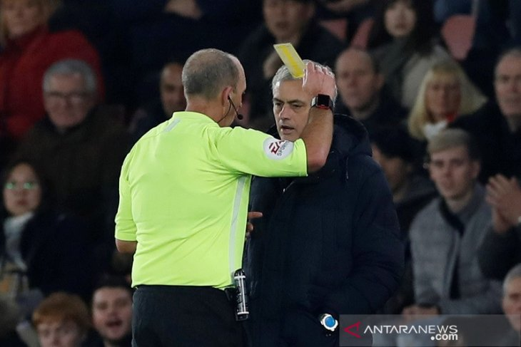 Mourinho heran Tottenham  bisa kalah 0-1 dari Southampton