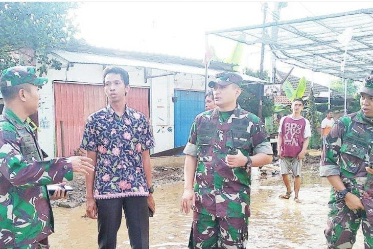 Di Cibodas Kota  Tangerang, banjir berangsur surut