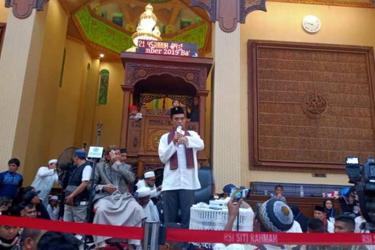 Ustadz Abdul Somad: Islamic Center bisa jadi ikon wisata religi