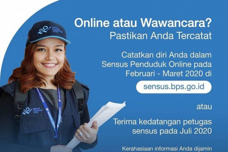 BPS Banten gencarkan sosialisasi sensus penduduk 2020 melalui online