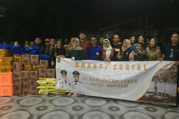 Wagub Lampung serahkan bantuan bagi korban banjir Banten