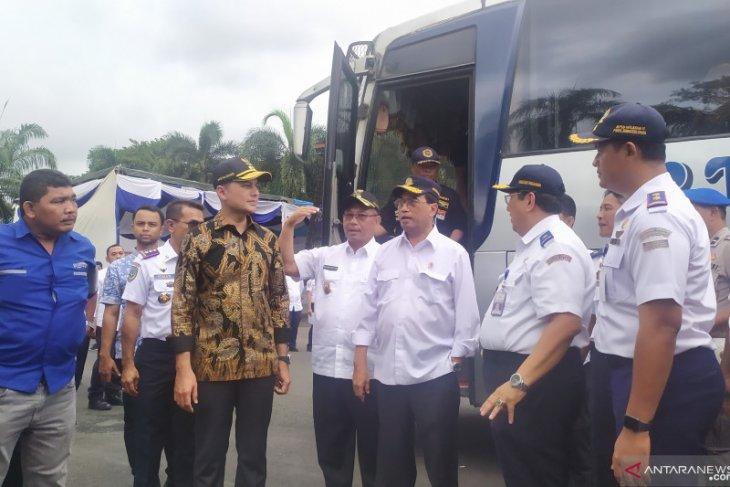 Hindari penipuan, Menhub akan terapkan sistem tiket online di Terminal Bus Medan