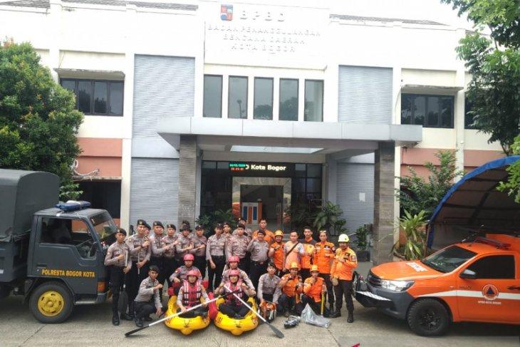 Polresta Bogor Kota siap bergabung BPBD Kota Bogor tangani bencana