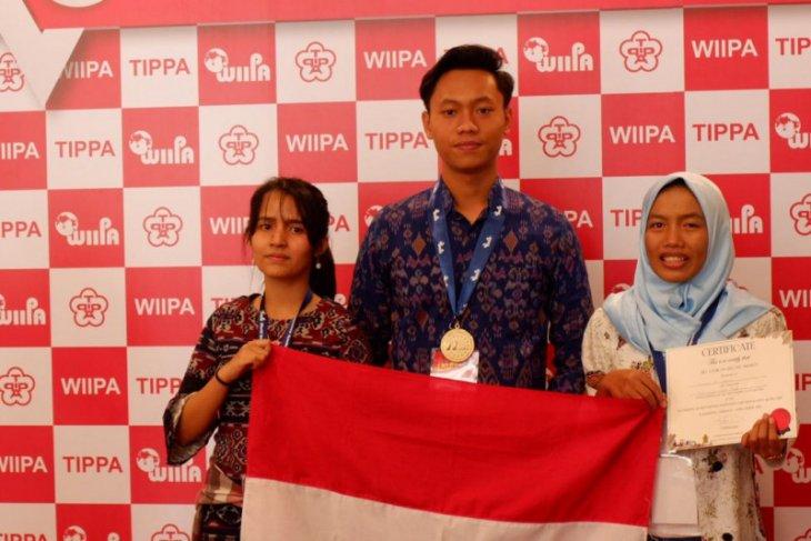 Tiga mahasiswa Unud sabet medali emas di Taiwan