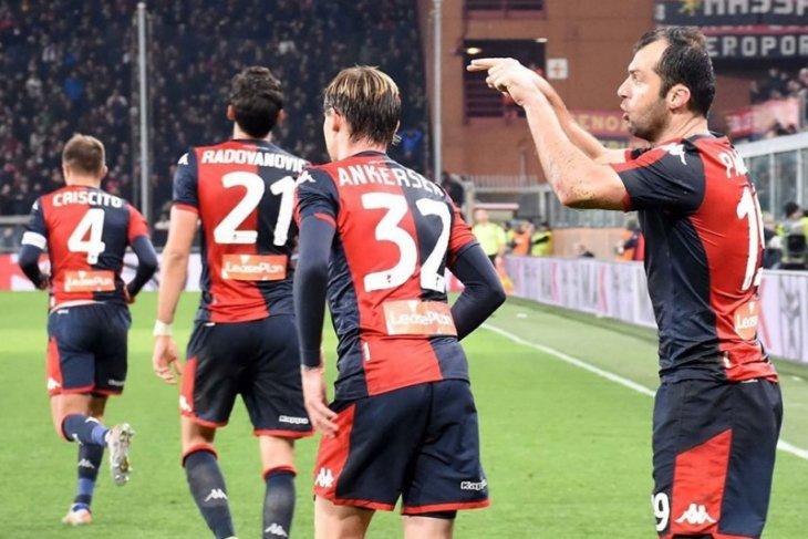 Genoa petik kemenangan pada debut Nicola