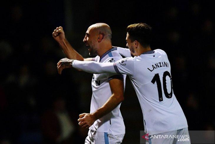Zabaleta lempangkan jalan West Ham ke putaran keempat Piala FA dwngan kalahkan Gillingham