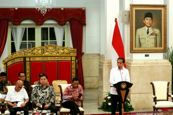 Presiden Jokowi berharap draf