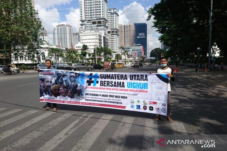 ACT Sumut galang aksi kepedulian Muslim Uighur