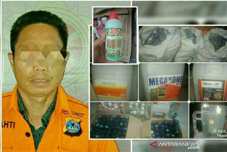 Jual obat pertanian ilegal, polisi grebek UD maju bersama