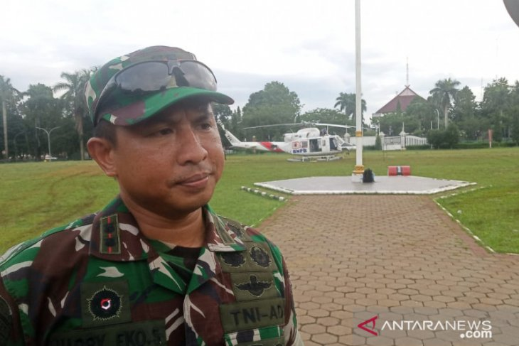 Bantuan logistik masih dipasok lewat udara ke Sukajaya Bogor sampai hari ini