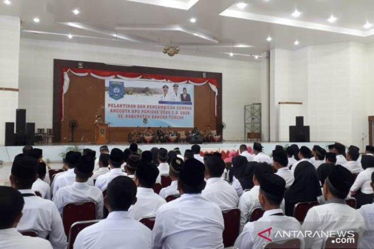 Bupati Bangka Tengah janji tingkatkan dana desa