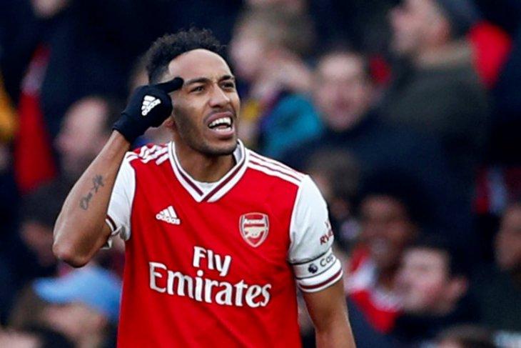 Aubameyang komitmen antarkan Arsenal ke puncak