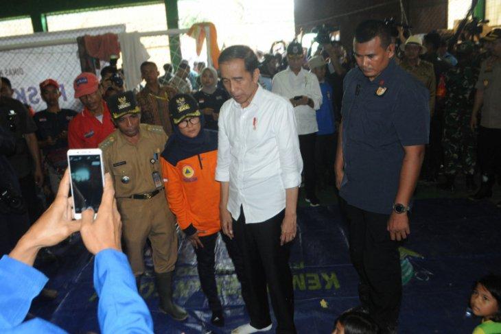 Jokowi: Banjir bandang di Lebak akibat tambang ilegal