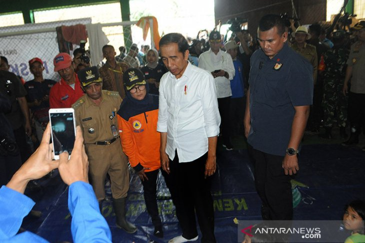 Presiden: Banjir bandang di Lebak akibat tambang ilegal