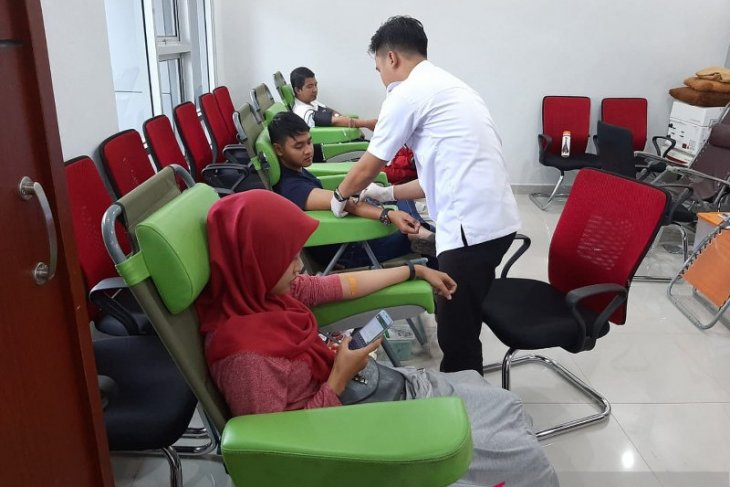 PMI Samarinda gelar gebyar donor darah