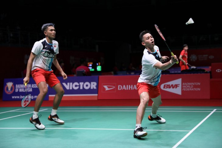 Fajar/Rian tundukkan Minions Malaysia Masters 2020