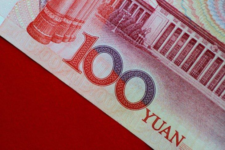 Yuan menguat 125 basis poin