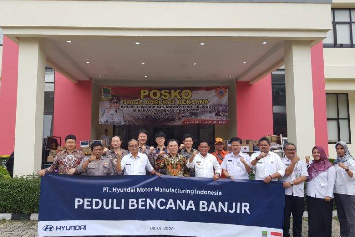 HMMI serahkan bantuan logistik untuk korban banjir Bekasi