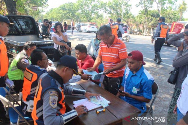 Dishub Denpasar tindak 10.460 kendaraan langgar aturan