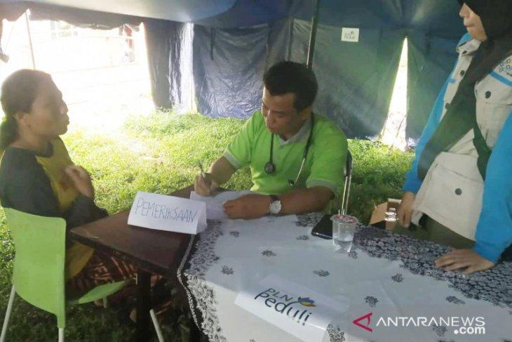 Pengungsi korban longsor Sukajaya banyak mengeluh gatal-gatal