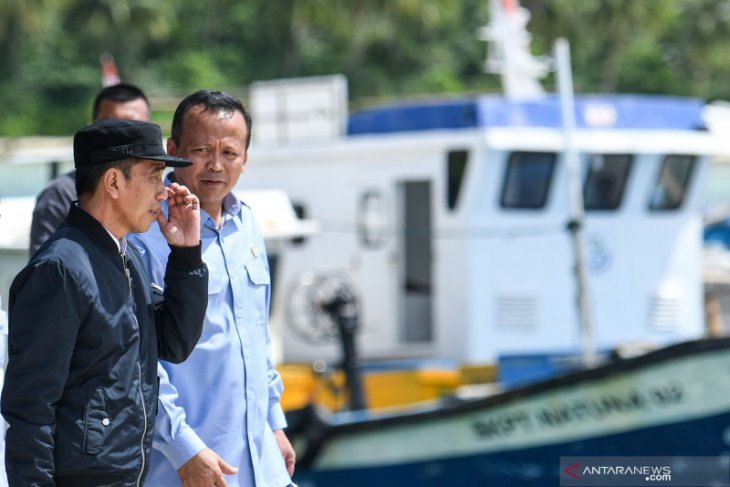 President Jokowi and entourage pay working visit to Natuna