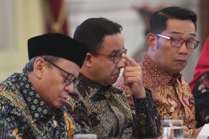 Ridwan Kamil usulkan pembangunan empat bendungan kepada Presiden