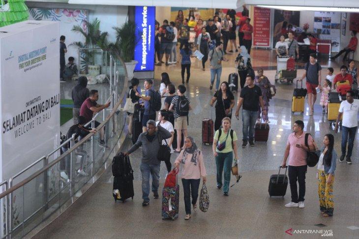 Bali Airport enjoys 2% increase in passengers