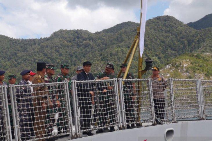 President Jokowi keen to ensure law enforcement in Natuna