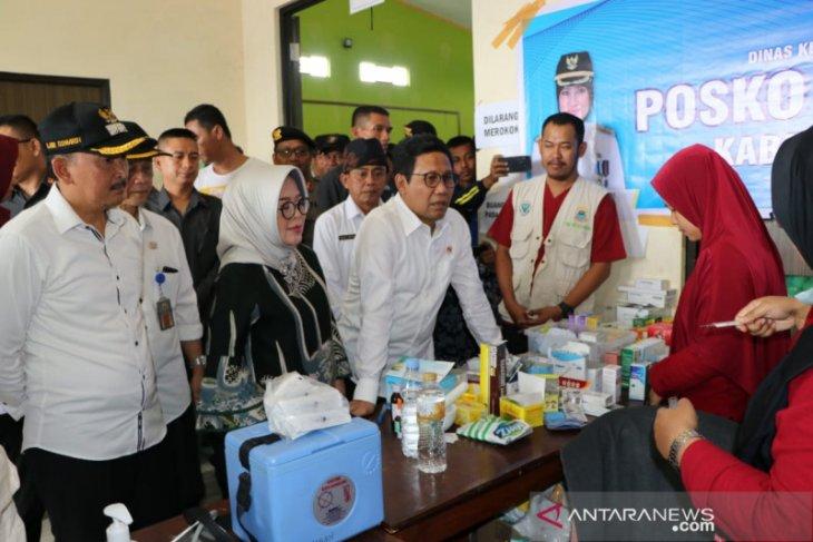 Menteri Desa PDT tinjau lokasi bencana di Kabupaten Lebak