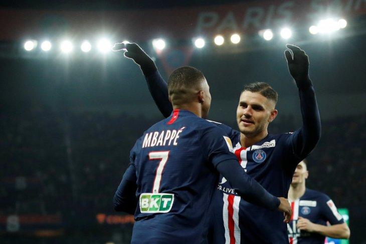 Pesta enam gol, PSG dampingi Lyon dan Lille ke semifinal Piala Liga