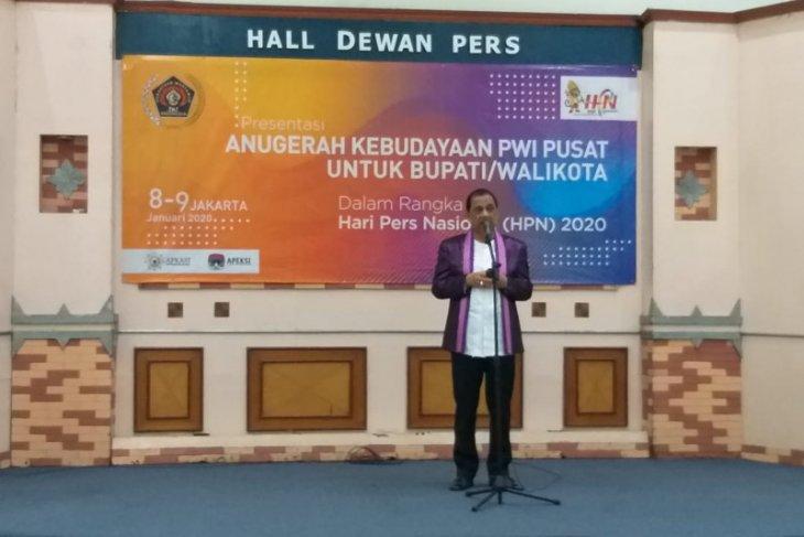 Wali Kota paparkan Ambon kota musik diseleksi Anugerah Kebudayaan PWI