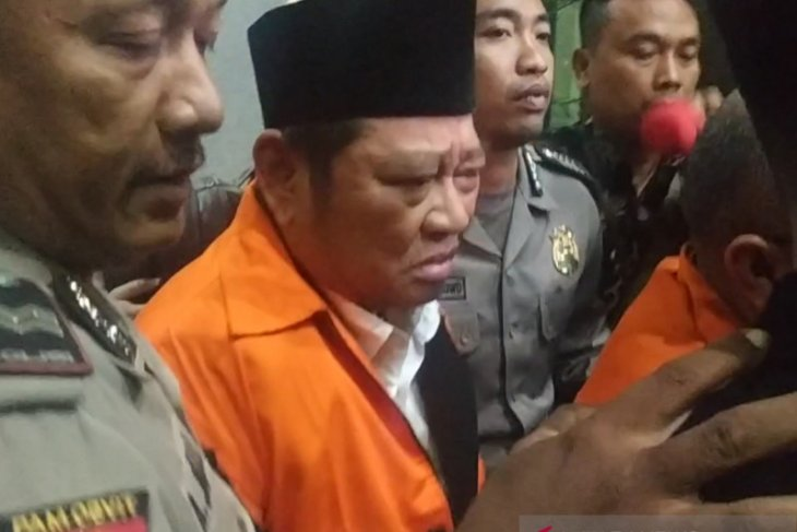 Bupati Sidoarjo Saiful Ilah ditahan di Rutan KPK