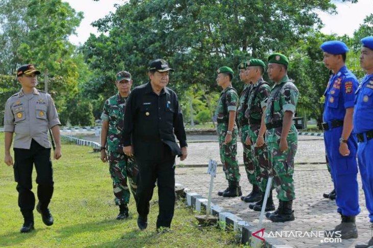 Pemkab Basel Libatkan TNI-Polri Bentuk Tim Siaga Bencana