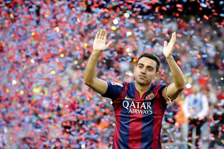 Xavi disebut bakal gantikan Valverde