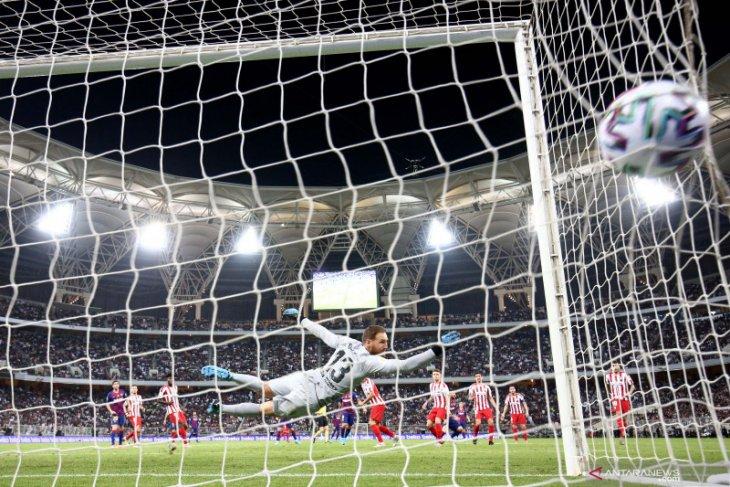 Atletico singkirkan Barcelona dari Piala Super Spanyol