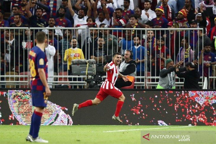 Atletico singkirkan Barcelona di semifinal Piala Super
