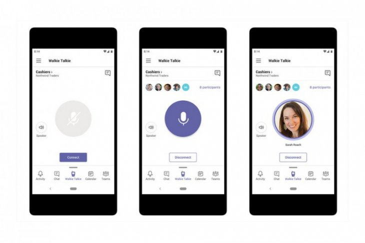 Microsoft Teams dapat fitur baru walkie-talkie