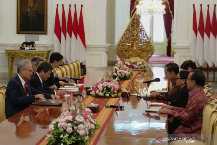 President Jokowi seeks Japanese investment in Natuna