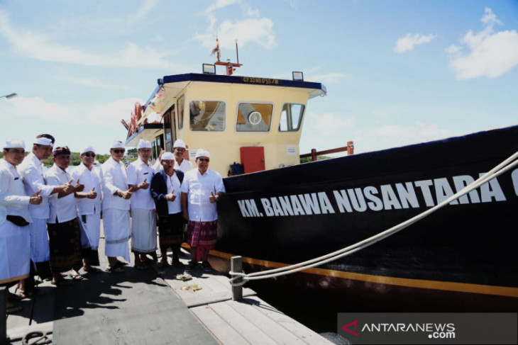 Kemenhub bantu kapal ke Kota Denpasar