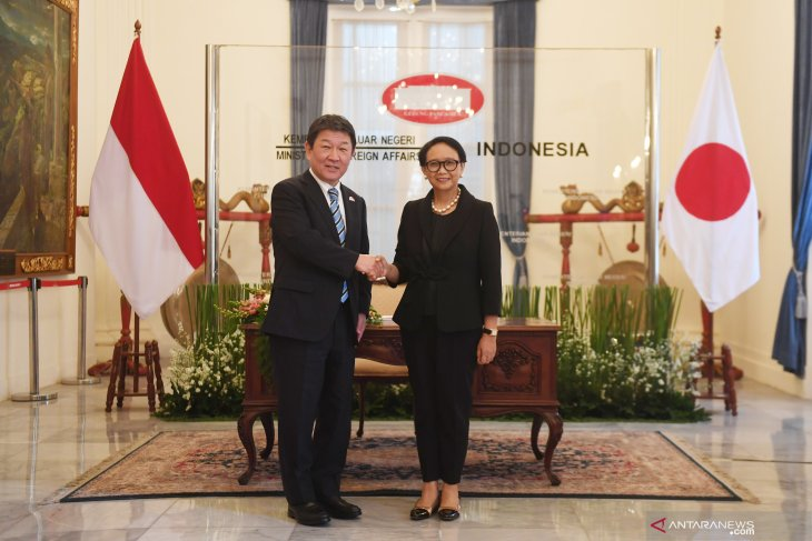 Indonesia, Japan concur on efforts to halt violence in Myanmar