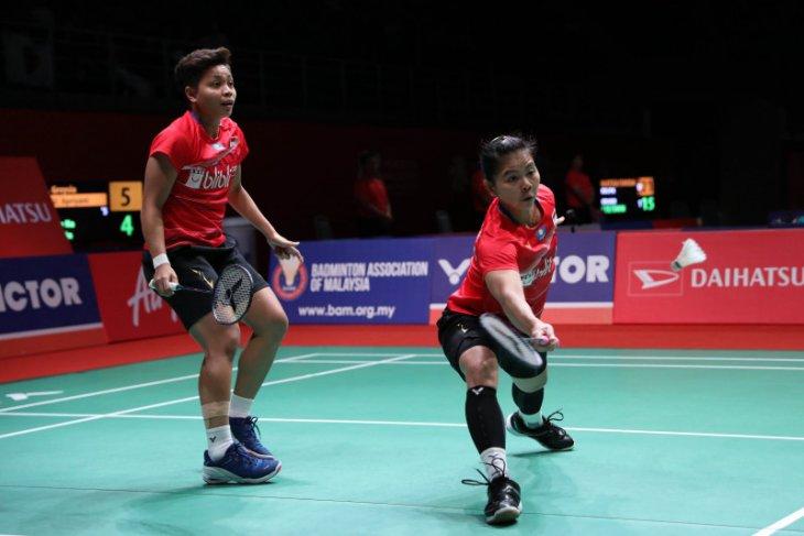 Greysia/Apriyani terhenti di semifinal Malaysia Masters