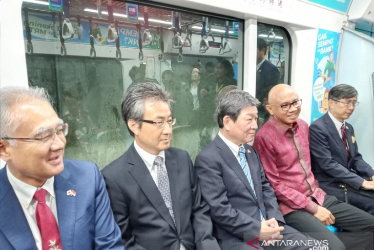 Jakarta MRT considered best project of Japan-Indonesia cooperation