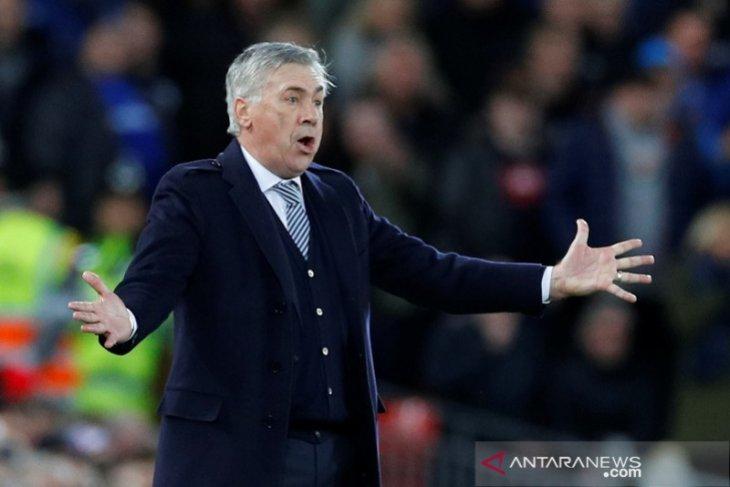 Ancelotti  ingin bayar kekalahan derby dengan perbaiki posisi klasemen