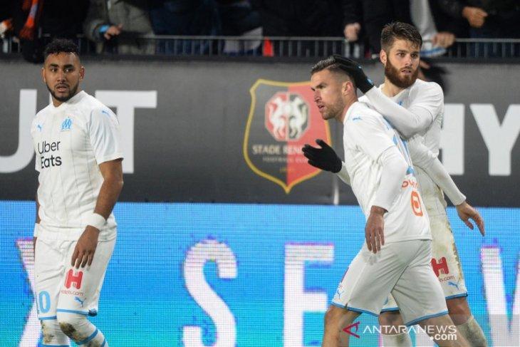 Gol Strootman menangkan Marseille di kandang Rennes