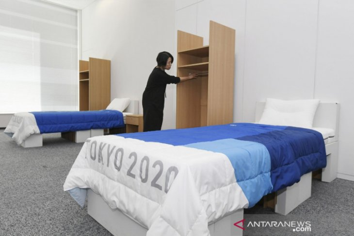 Tempat tidur atlet Olimpiade 2020 berproduk ramah lingkungan