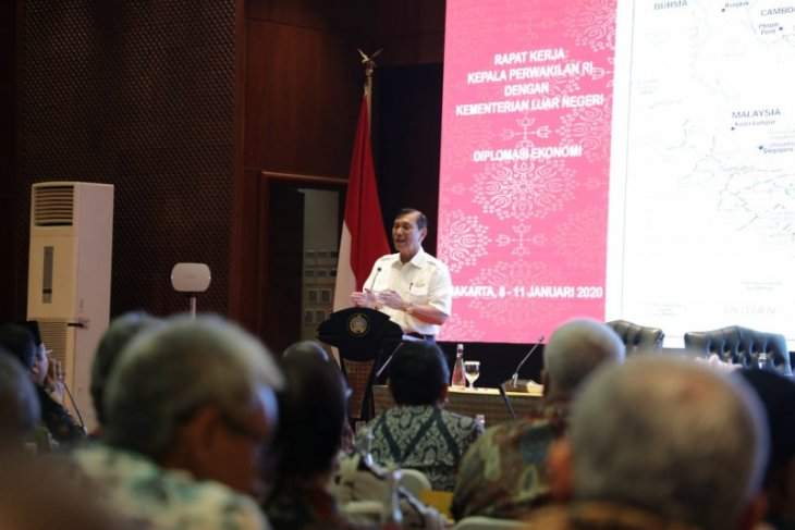 Menteri  Luhut ingatkan perlunya memupuk perkawanan untuk membangun Indonesia