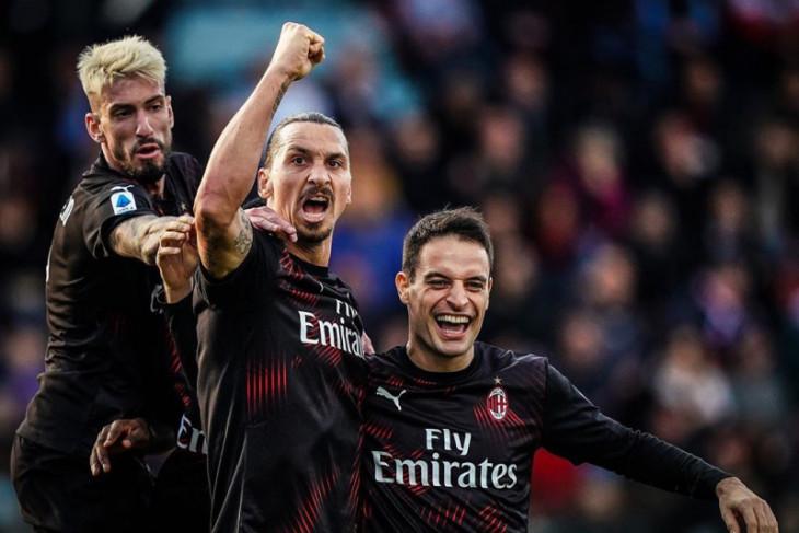 Gol Ibra warnai kesuksesan Milan akhiri puasa kemenangan