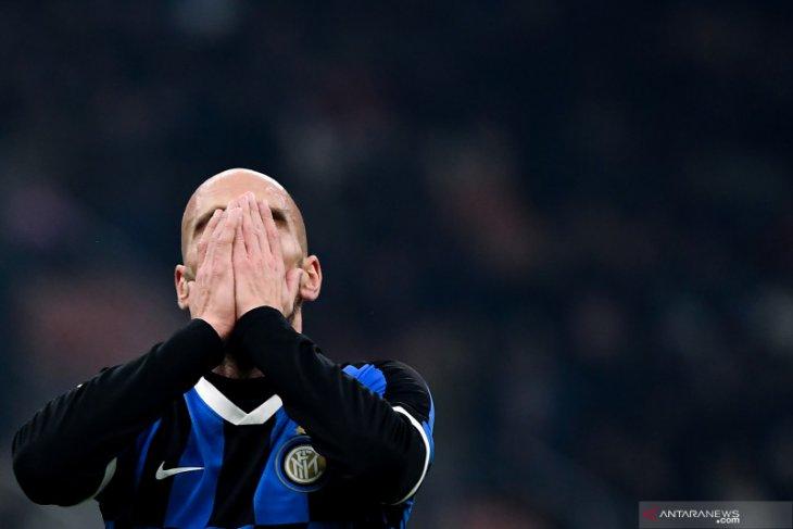 Inter tergelincir di kandang sendiri