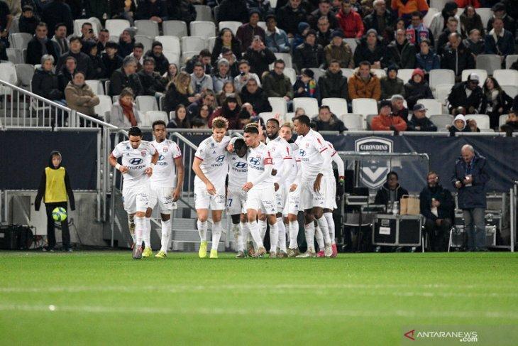 Liga Prancis: Lyon bangkit atasi tuan rumah  Bordeaux