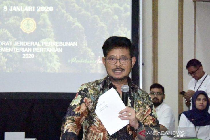 Mentan minta penegakan hukum bagi pelaku konversi lahan pertanian